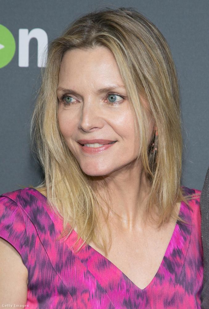 Michelle Pfeiffer kicsit kakuktojás, mert ő 100% így is, úgy is színésznő lenne