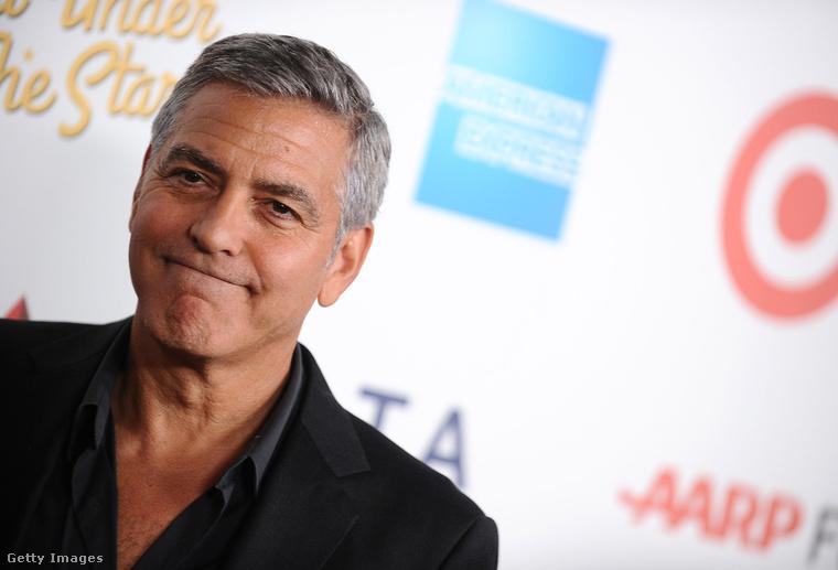 Anno George Clooney-nak is több köze volt a sporthoz, mint a színészethez.