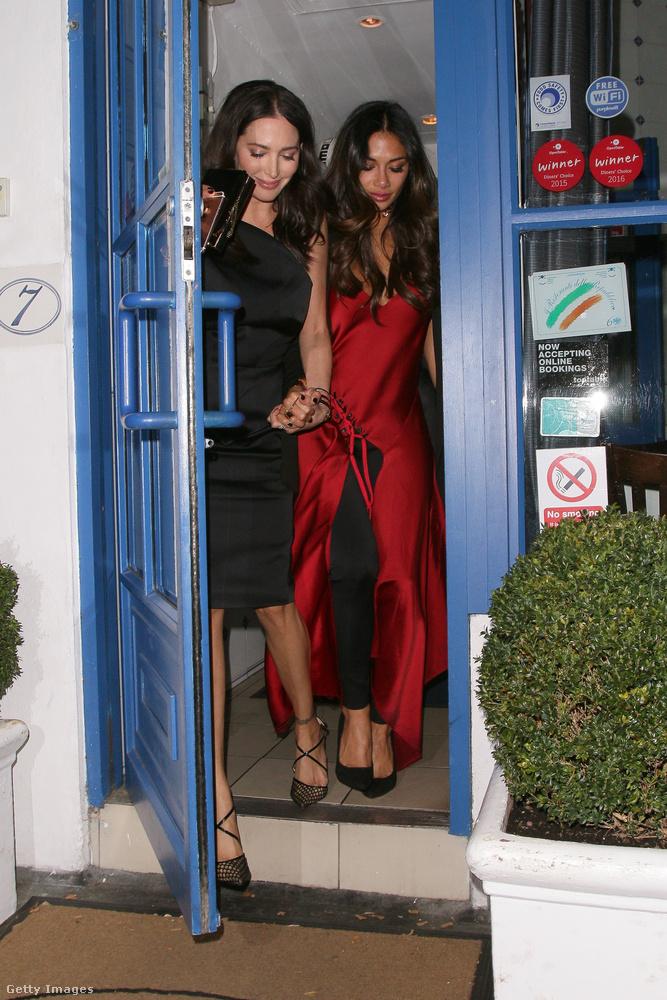 Az énekesnő október 5-én, szerdán Lauren Silverman társaságában vette bele magát a londoni éjszakába