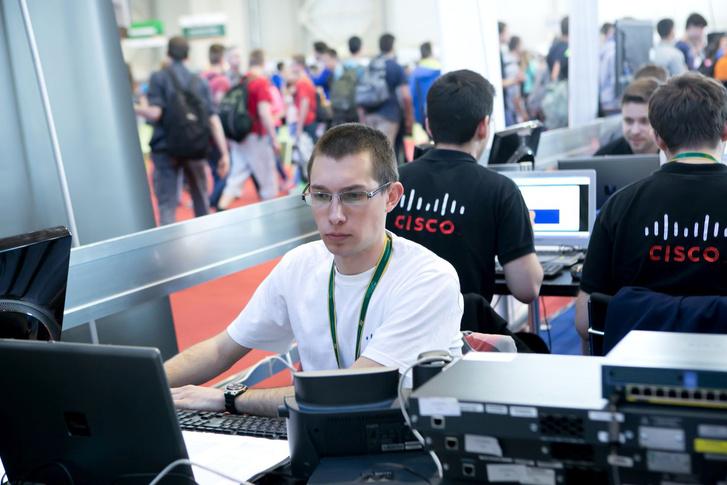 Tóth Bence, az EuroSkills 2016 informatika versenyszámában induló magyar csapat tagja.