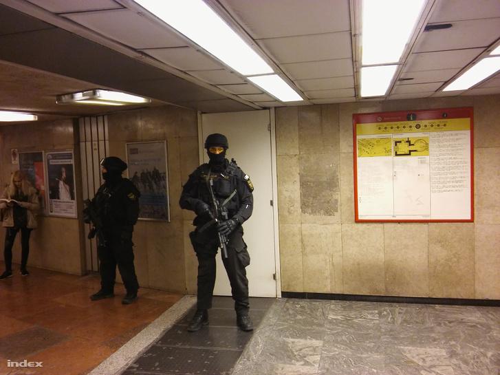 TEK-es egységek a Metróban 2016. elején