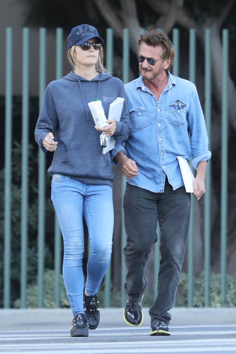 Sean Penn és Leila George
