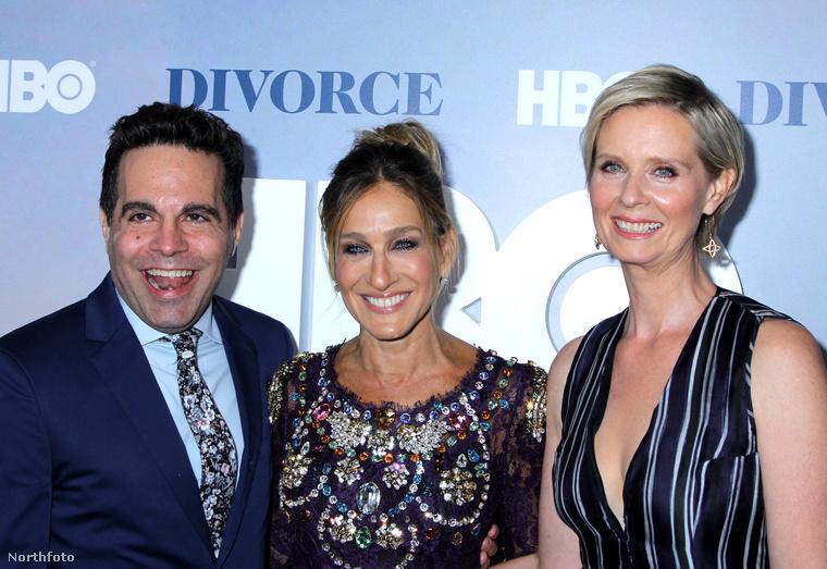 Ezen a héten volt egy mini Szex és New York-reunion is Sarah Jessica Parker új HBO-sorozatának premierjén.