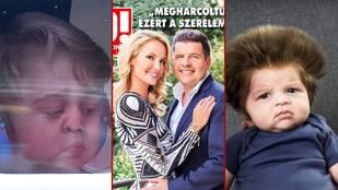 A hét képei: György herceg, Zimány Linda és a baba, akinek túl sok haja van