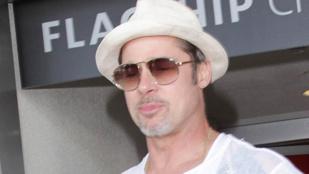 Brad Pitt már láthatta a gyerekeit