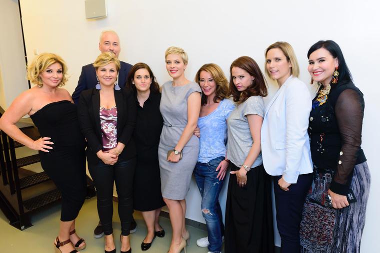Kende-Hofherr és a Nő Comment című produkció szereplői
