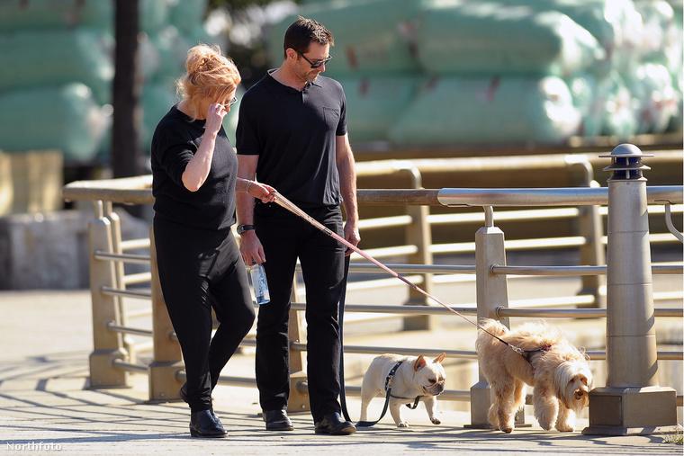 Ha Angelina Jolie és Brad Pitt válása miatt megrendült volna a hite abban, hogy Hollywoodban létezhet örök szerelem, Hugh  Jackman és felesége talán most javít a helyzeten.