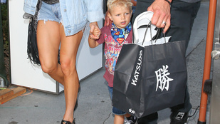 Ha Fergie gyereke Josh Duhamel sármját örökli, nagy baj nem lehet