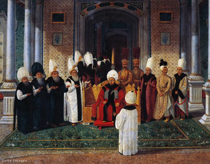 III. Szulejmán a Topkapi palotában