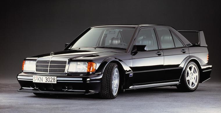 A 190-es Merci legkeményebb változata is versenypálya szökevény, célja az volt, hogy gyorsabb tudjon lenni az E30-as M3-as BMW-nél