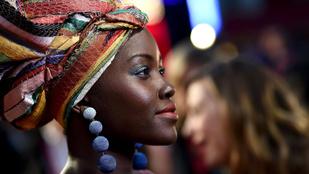 Lupita Nyong'o ezzel az új stílussal igazi kenyai istennő