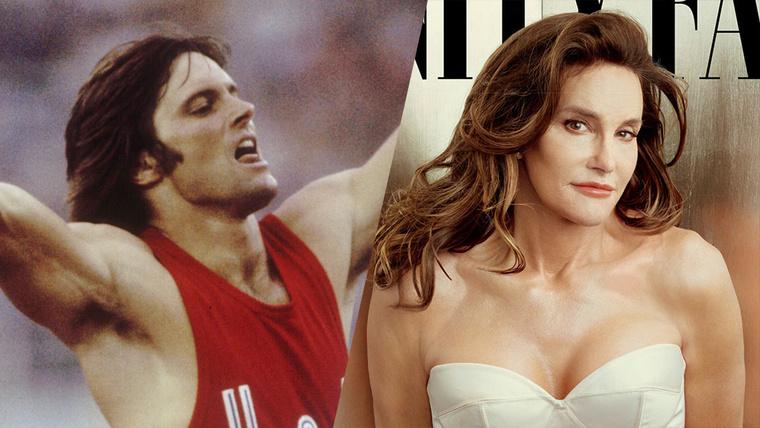 Bruce Jenner és Caitlyn Jenner.