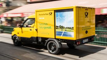 Nem gyárt több villanyautót a német posta