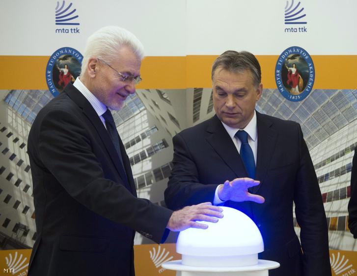 Pálinkás József és Orbán Viktor