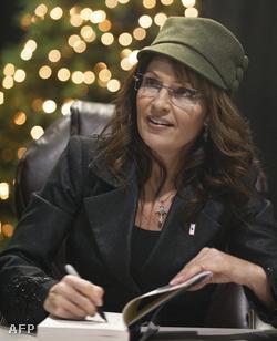 Sarah Palin dedikál