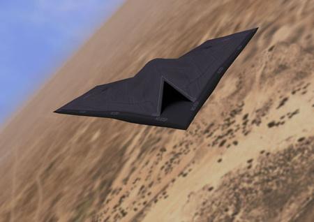 A BAE Taranis kódnevű pilóta nélküli gépének látványterve