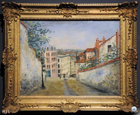 Maurice Utrillo: Rue Du Mont-Cenis, Montmarte