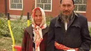 114 éves nőt vett feleségül egy 71 éves férfi