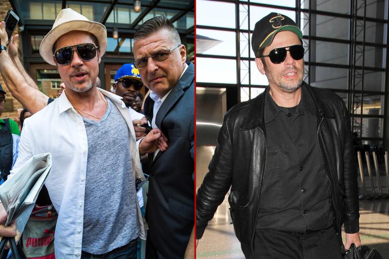 Nem talált kihívóra, eddig!                          Na itt ki kicsoda? Segítünk!                          Balra Brad Pitt, jobbra Benicio Del Toro, akivel kapcsolatban friss hír, hogy kihagyják az új Predatorból