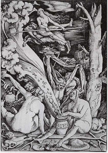 Hans Baldung Grien: A boszorkányok