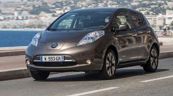 Olcsó akkumulátor jön Nissan Leafhez