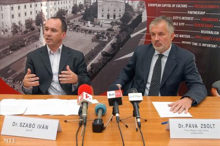 Szabó Iván és Páva Zsolt