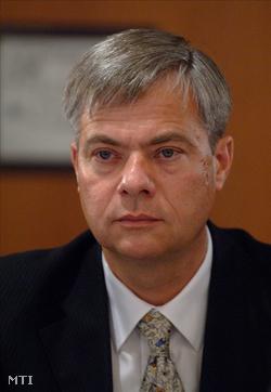 Csorba Zoltán, a SUEZ Environnement ügyvezető igazgatója