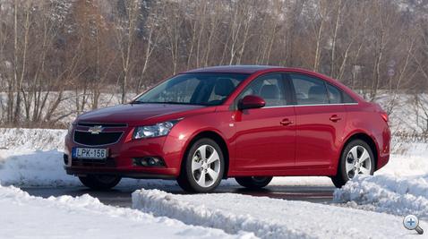 Chevrolet cruze adatok