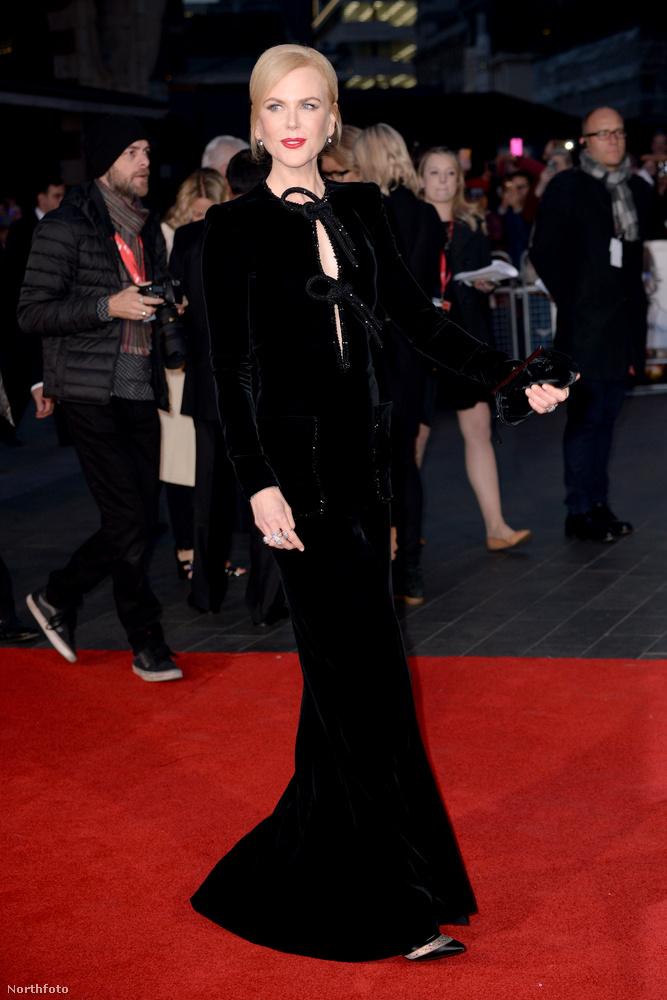 Nicole Kidman mostanában a Lion című filmjét népszerűsíti egy sajtókörúton.