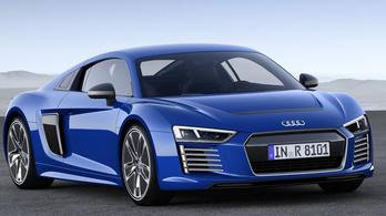 Az Audi újra megpróbálkozik az elektromos szupersportautóval?