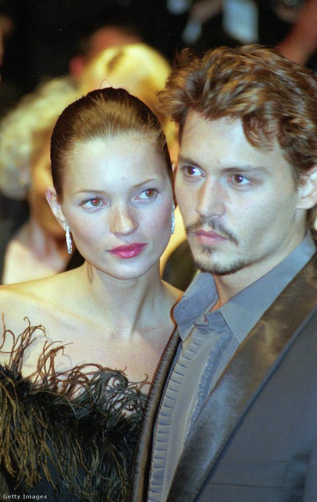 Vanessa Paradis előtt Depp négy évig Kate Moss modellel járt, akivel meglehetősen viharos volt a kapcsolatuk