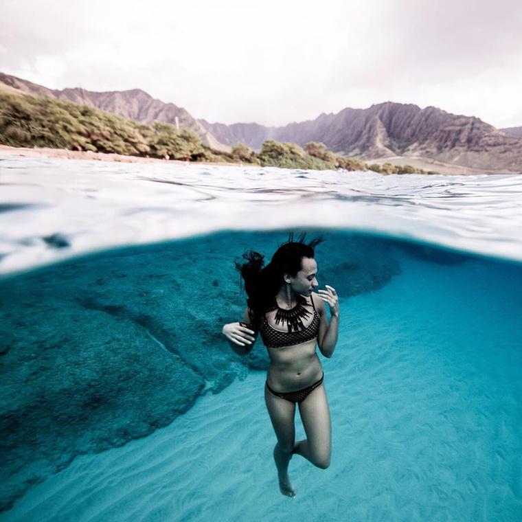 Nagyjából két percet tud eltölteni a víz alatt anélkül, hogy megfulladna.