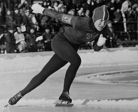 Ligyija Szkoblikova az innsbruck-i téli olimpián