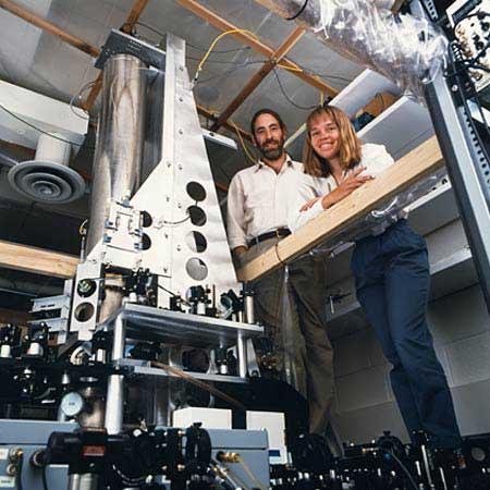 A NIST-F1 Cézium alapú atomóra