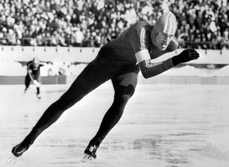 Ard Schenk korcsolyázik