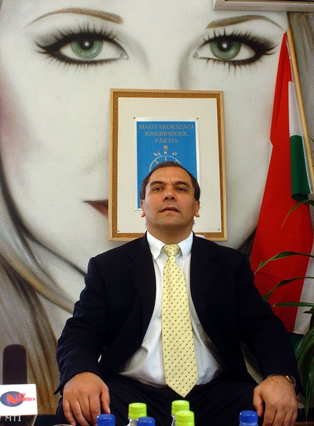 Száva Vince, a Magyarországi Kisebbségek Pártjának országos elnöke