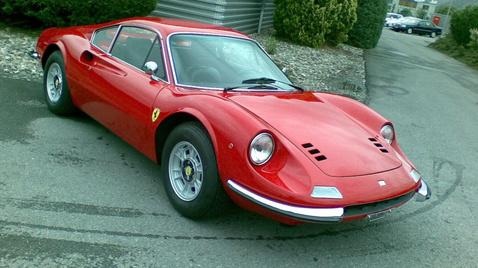 Dino 246 GT, az utolsó V6-os utcai autó a Ferraritól