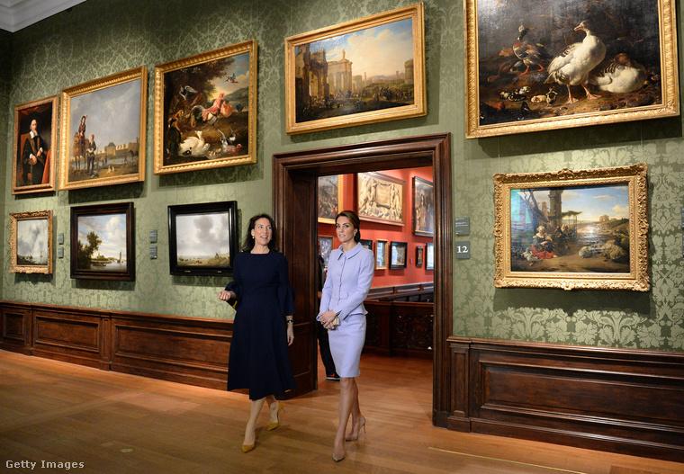 Katalin hercegné a héten Hollandiába látogatott, amolyan diplomáciai tisztelgés volt ez