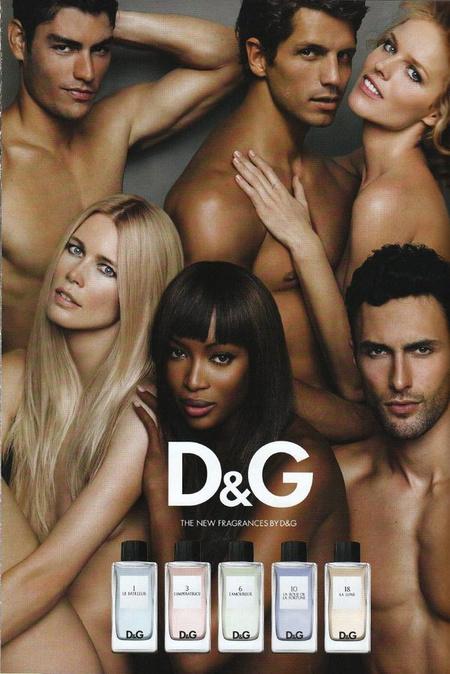 D&G parfümreklám, Tyson Ballou a bal felső