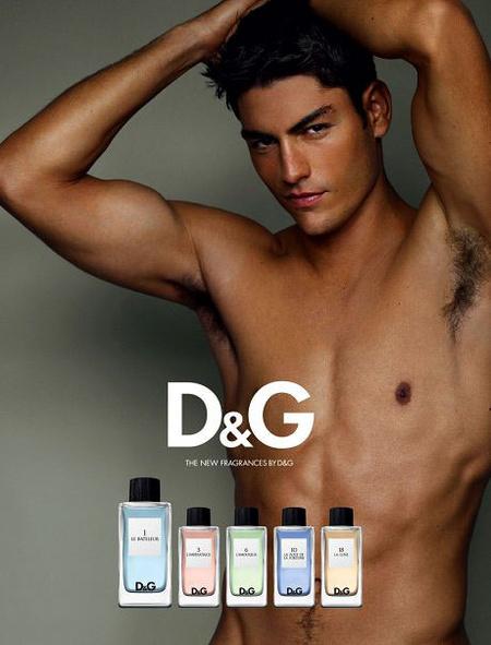 A D&G parfümreklám-sorozatának egy nem csoportos darabja