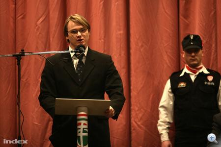 Kovács Bertalan Tamás, a Jobbik 19. választókerületi jelöltje.