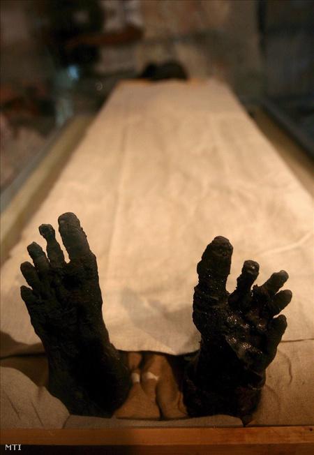 Tutanhamon lábfeje