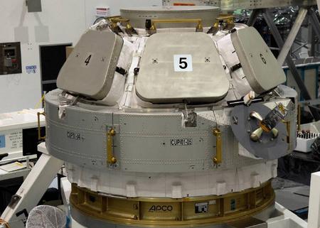 A kupola még a Földön (Fotó: NASA)