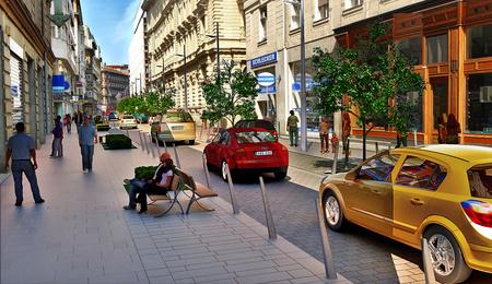 Így nézhet ki majd a Petőfi Sándor utca