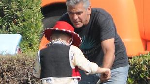 Ilyen lenne George Clooney apaszerepben
