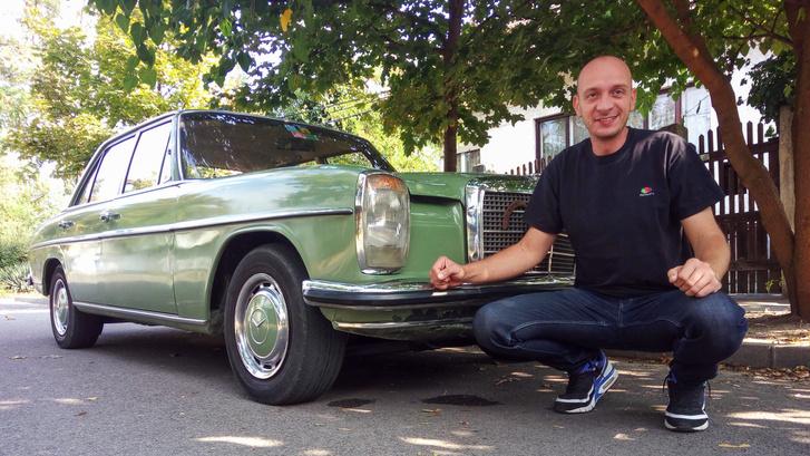 András, aki egy jó kocsit vett. Remélem...