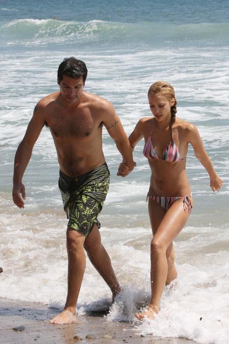Cash Warren és Jessica Alba