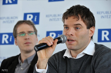 Dénes Balázs, a Társaság a Szabadságjogokért jogvédő szervezet elnöke