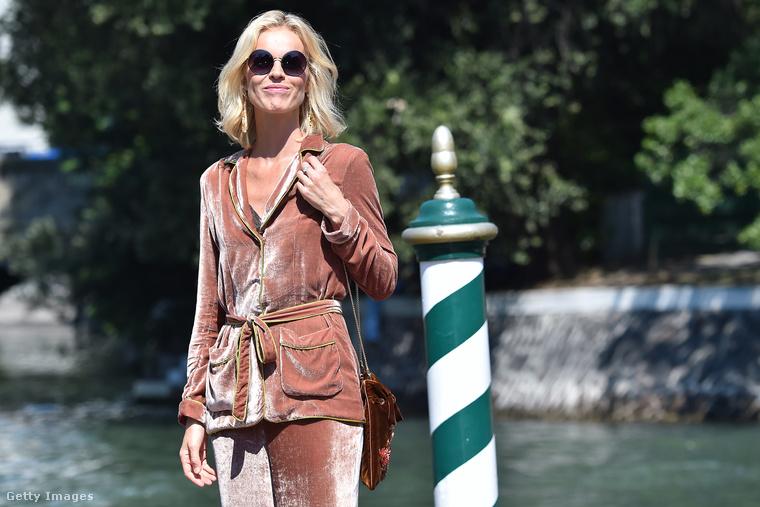 Eva Herzigova megérkezik a Velencei filmfesztiválra, még szeptember elején.