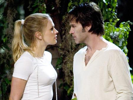 Sookie és Bill szerepében a sorozatban